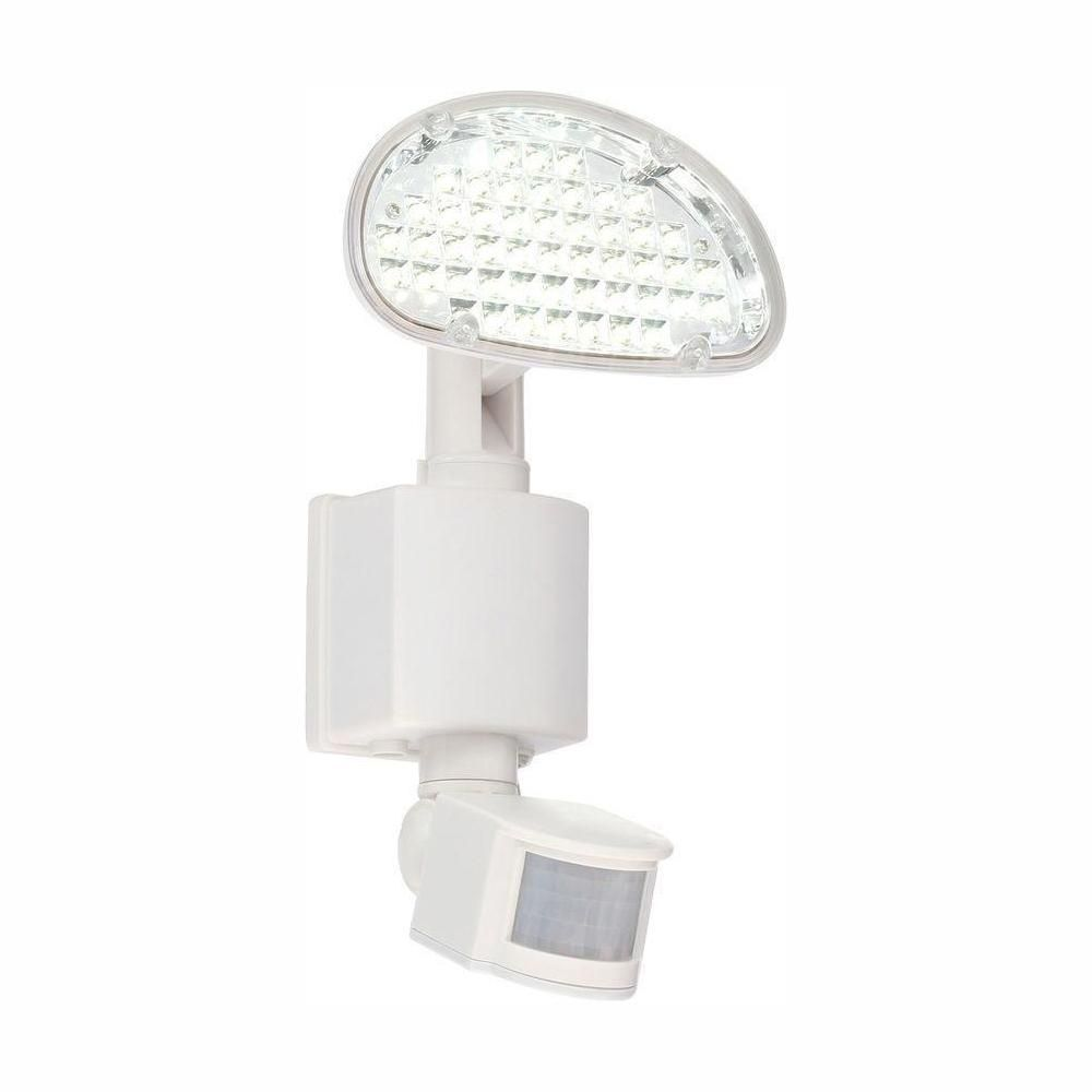 Defiant Solar 48 Light 180 Degree White Motion Activated Outdoor