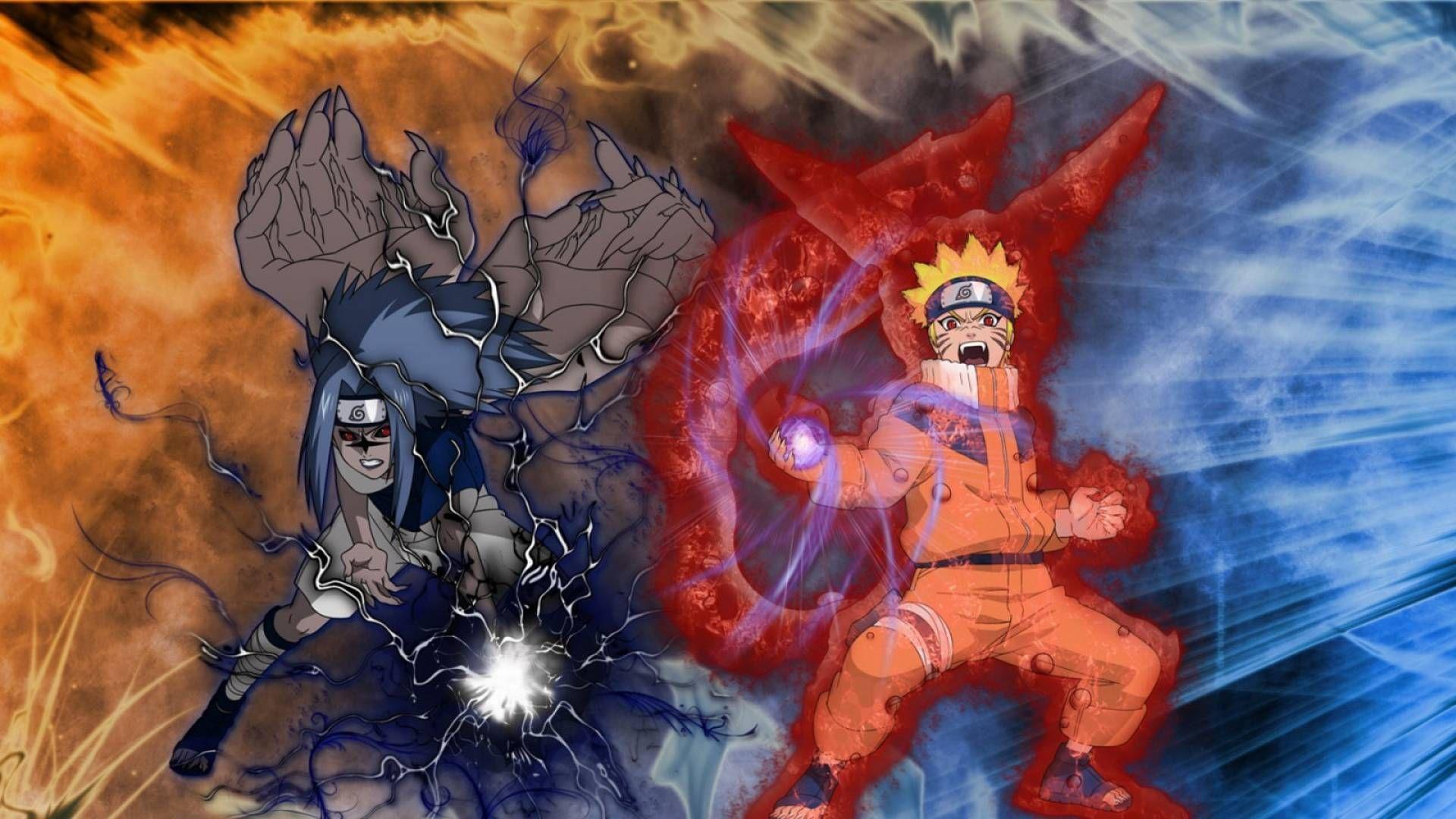 Naruto And Sasuke Wallpaper With Images Wallpaper Naruto