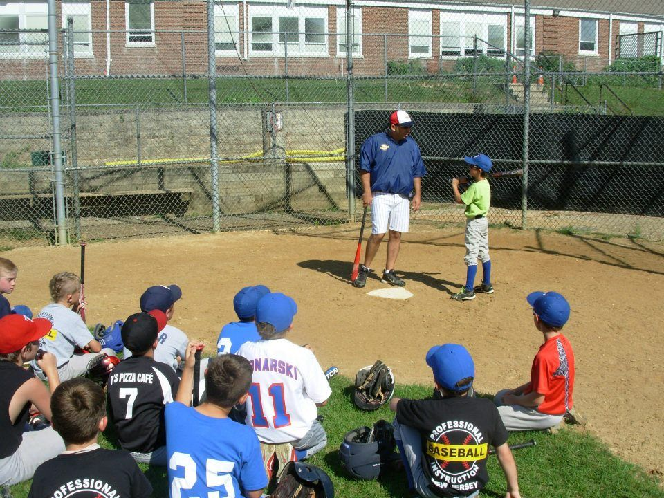 Coach Joe Cirillo Giving A Hitting Talk At An Outdoor Camp In West Milford Nj In July 2012 Baseball Camp Outdoor Camping Outdoor
