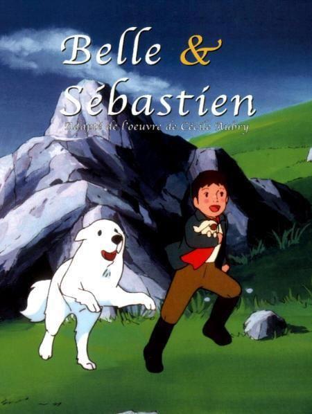 Belle et sébastien hachi and bell cartoni animati ricordi d