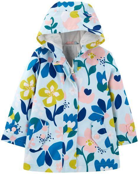 c2ea4487c Floral Raincoat