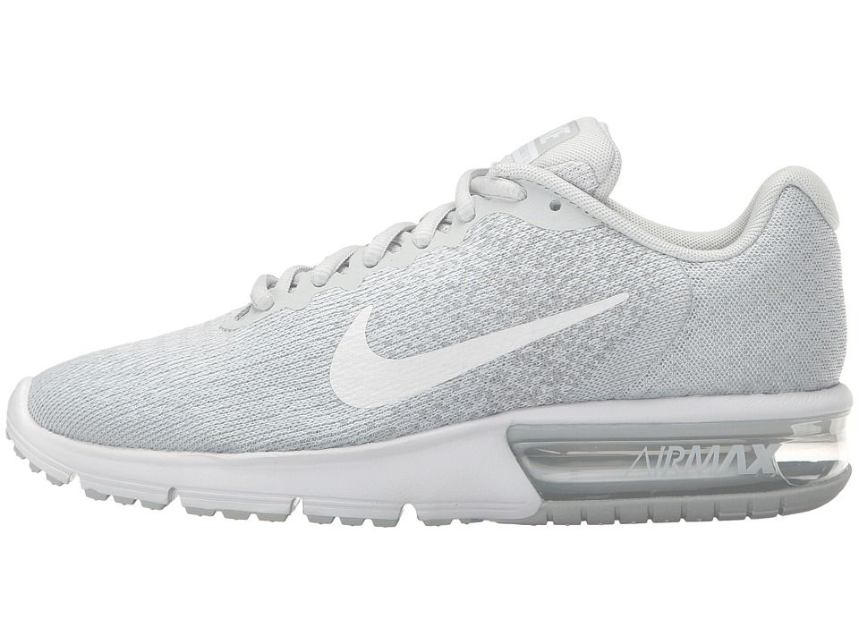 Nike Air Max Sequent 2 Women's Running Shoes Pure Platinum