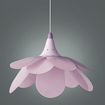 hanglamp paars/roze bloem | babykamer | pinterest, Deco ideeën