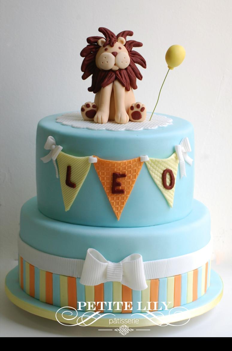 Baby Shower Lion Cake Bolo De Le 227 O Para Ch 225 De Beb 234