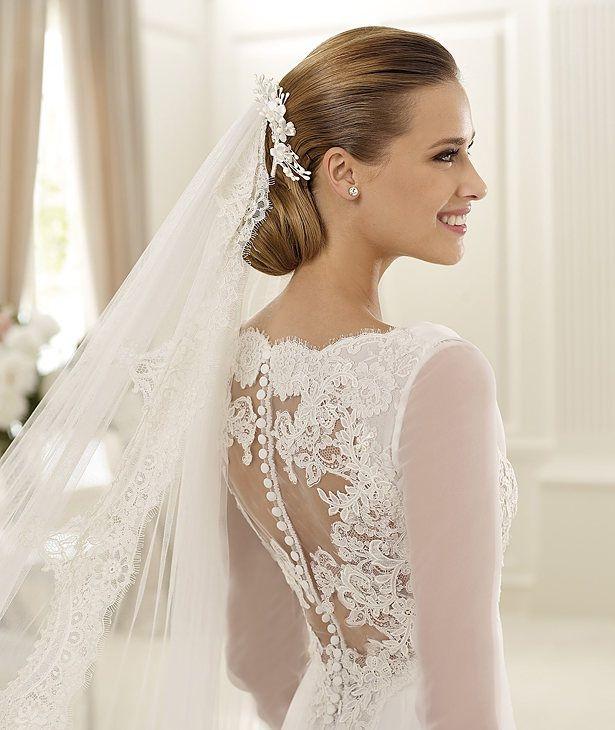 vestido de novia que uso bella en amanecer - Buscar con Google ...