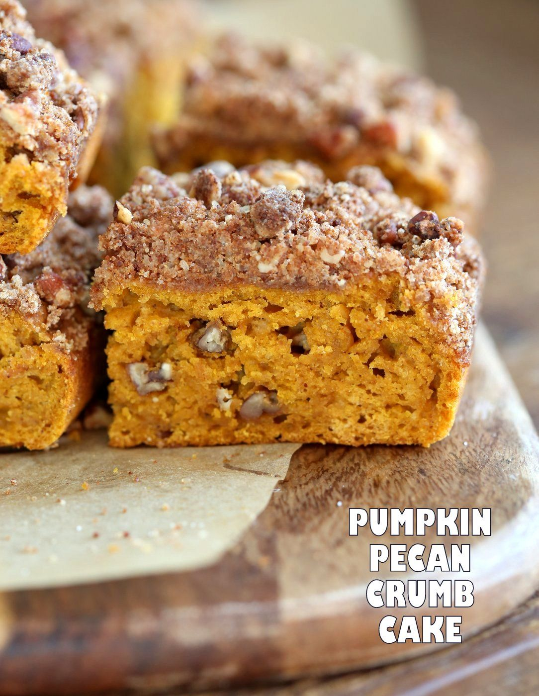 Vegan Pumpkin Coffee Cake With Pecan Crumb Easy 1 Bowl Pumpkin Cake Topped With Chai Spice Pecan Streuse Pumpkin Coffee Cakes Vegan Sweets Vegan Cake Recipes