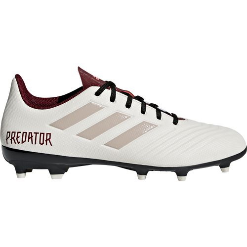 reputable site aacf9 73d87 Adidas Women's Predator 18.4 FG Soccer Cleats (White/Black, Size 8) -  Women's Soccer Shoes at Academy Sports