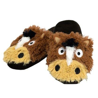 Horse Critter Slippers