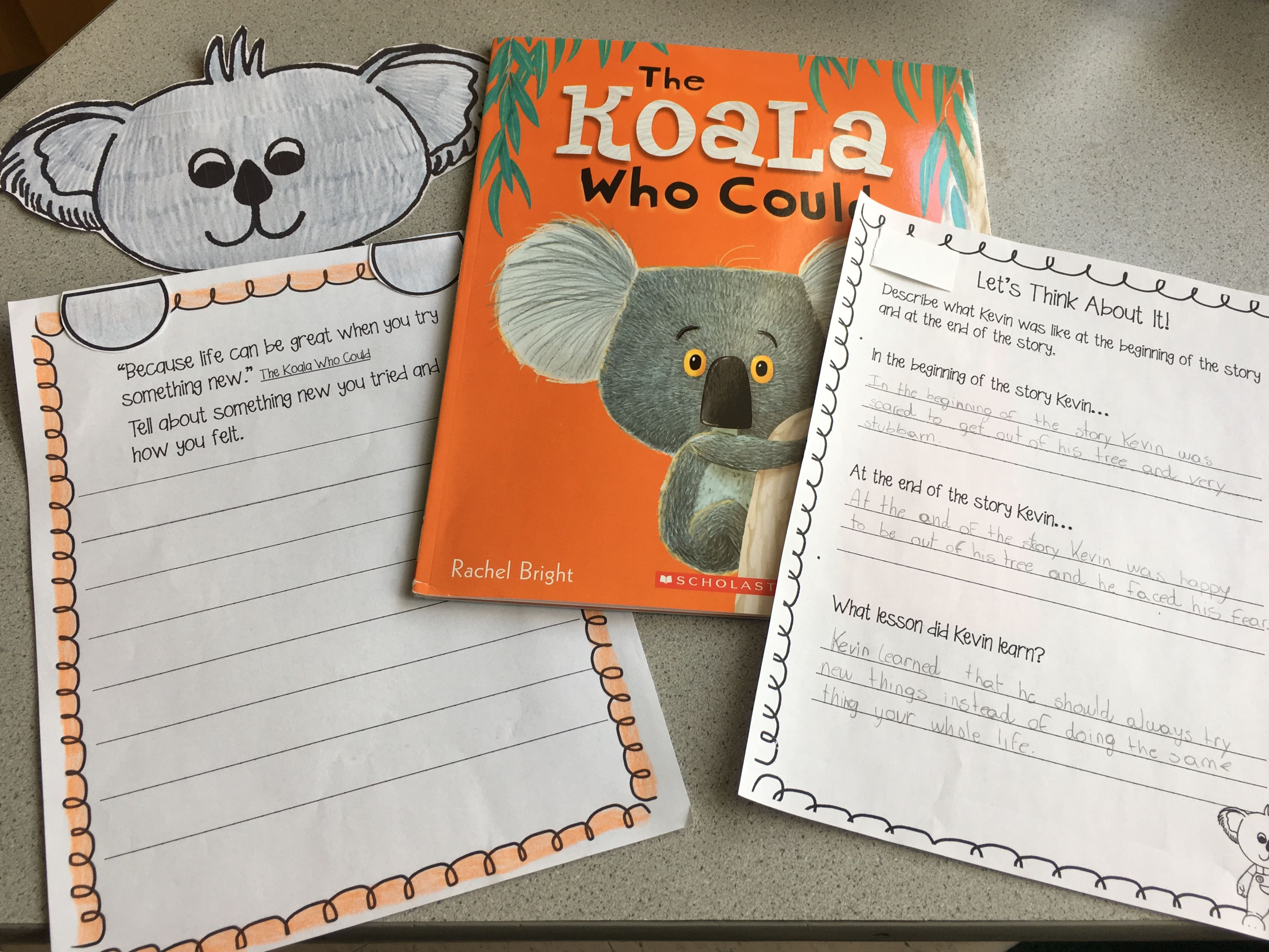 This Is A Fun Book Companion Resource For The Koala Who Could Love This Story Great Message Mrs Caps Classroom Classroom Book Companion Koala
