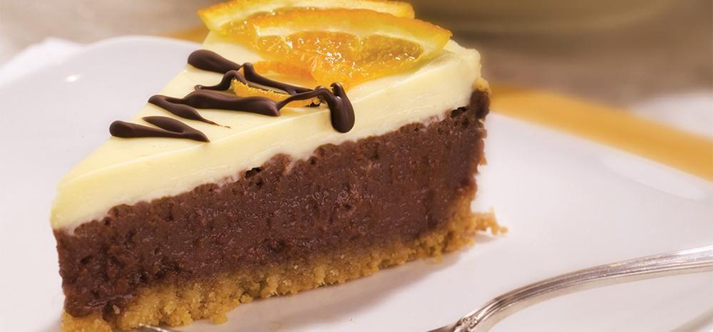 Ghirardelli Recipe: Chocolate Orange Cheesecake