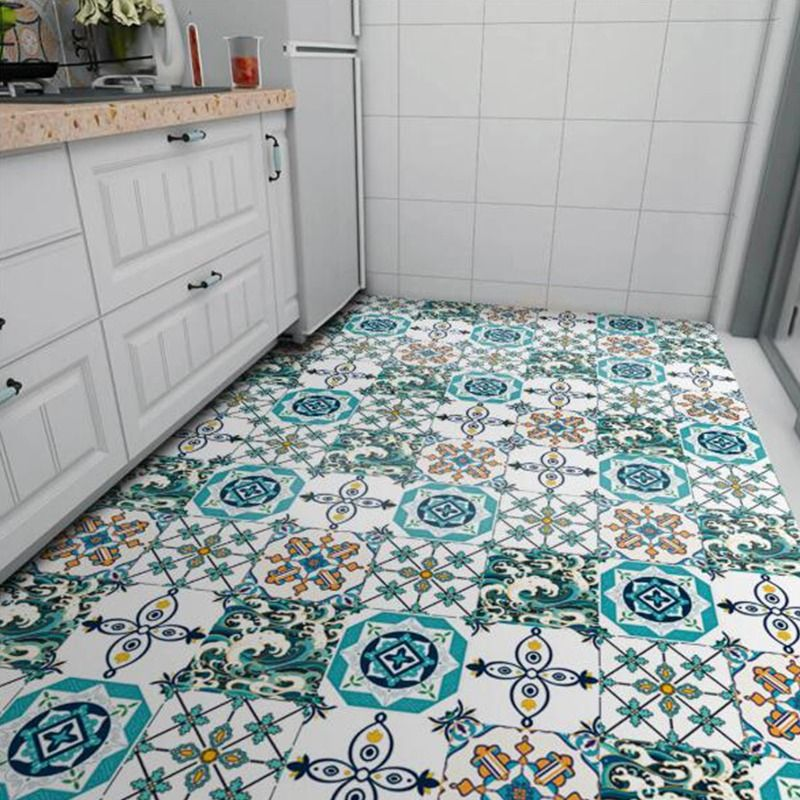Mexican Tile Stickers Self Adhesive Vinyl Tiles Bathroom Wall Stickers Decorative Tile