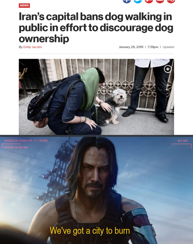 36 Cyberpunk 2077 Memes That Are Taking Over The