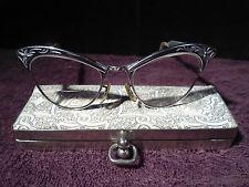 Cat Eye Glasses w/Case, Vntg., Styl-Rite, 14K GF
