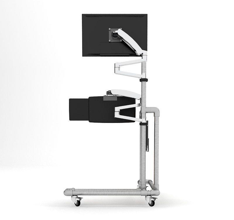Ergonomischer Pc Tisch Zum Selber Bauen Update Dekomilch Pc Tisch Pc Schreibtisch Tisch Bauen