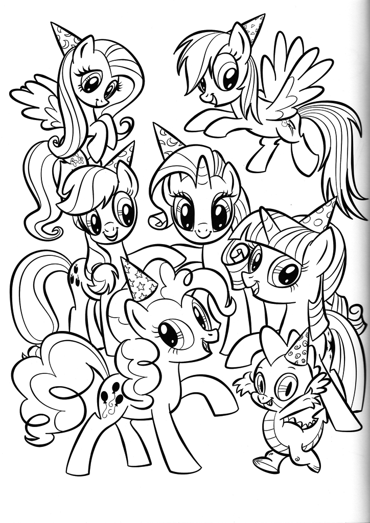 My Little Pony Friendship Is Magic Coloring Pages Best Coloring Pages For Kids My Little Pony Coloring My Little Pony Twilight My Little Pony Drawing