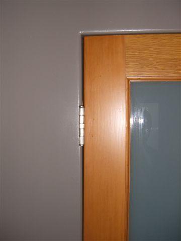 No Trim Door Jambs Livemodern Your Best Modern Home Baseboard Trim Craftsman Door Building A Door