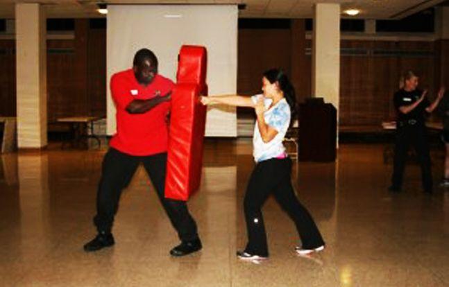 ... personal defense, freshman Nikki Armstrong began taking self-defense - SEE THE TOP PERSONAL SELF DEFENSE PRODUCT AT http://www.selfdefensegearco.com/YellowJacketiPhoneCaseStunGun.htm
