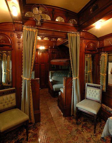 Private Railroad Car Vintage Train Luxury Train Old Trains