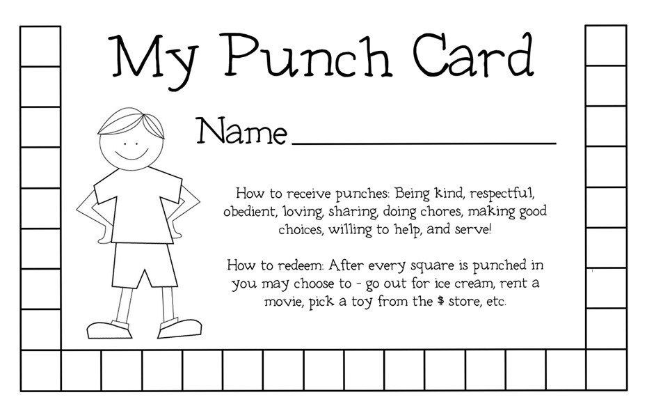 graphic regarding Free Printable Punch Card Template identify Cost-free Printable Punch Card Template Christmas2017 for Absolutely free