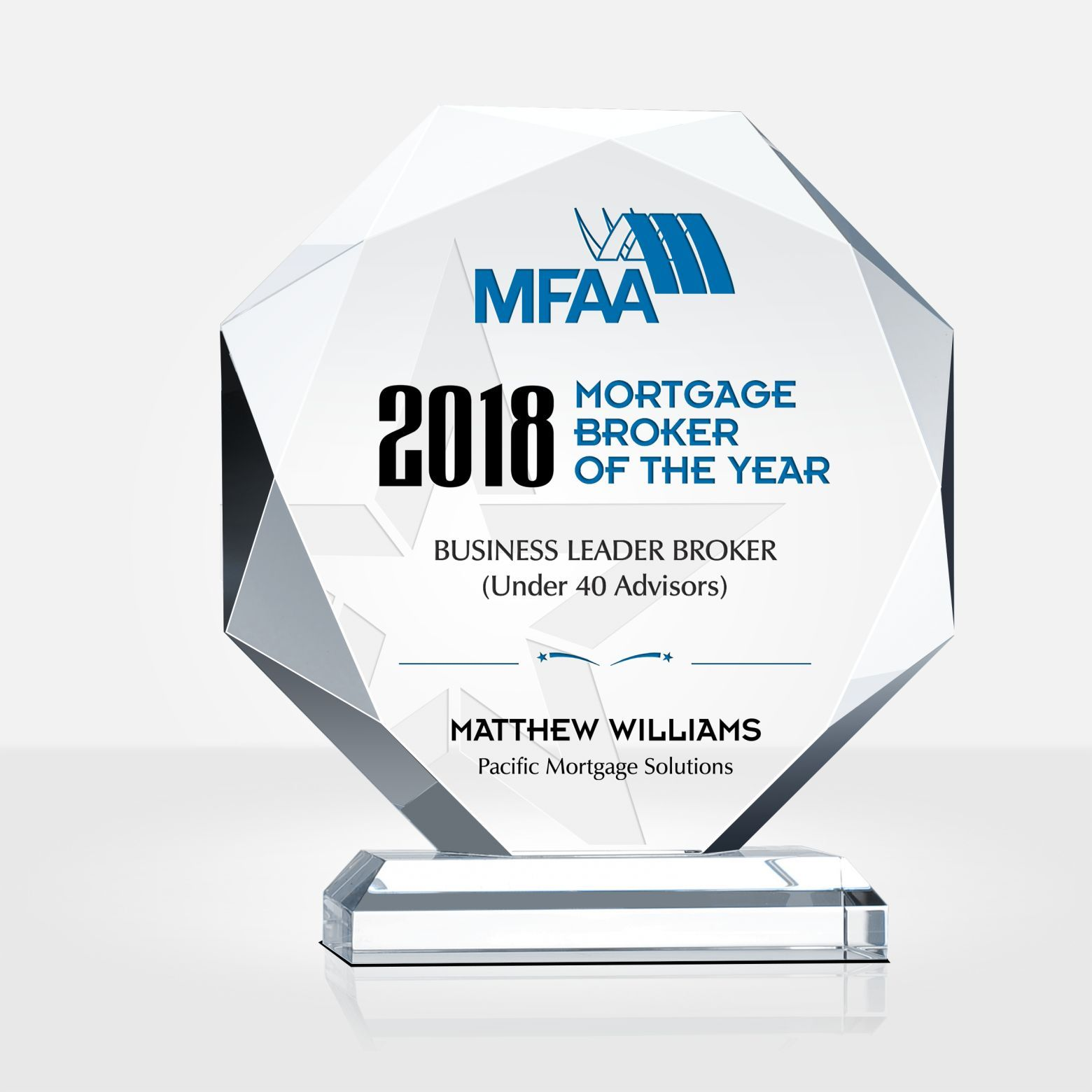 Honor The Mortgage Broker Of The Year With This Modern Designed