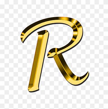 Gold R Logo Letter P Clolorful Letters Miscellaneous Text Number Png Lettering Alphabet Alphabet Drawing Floral Wreaths Illustration