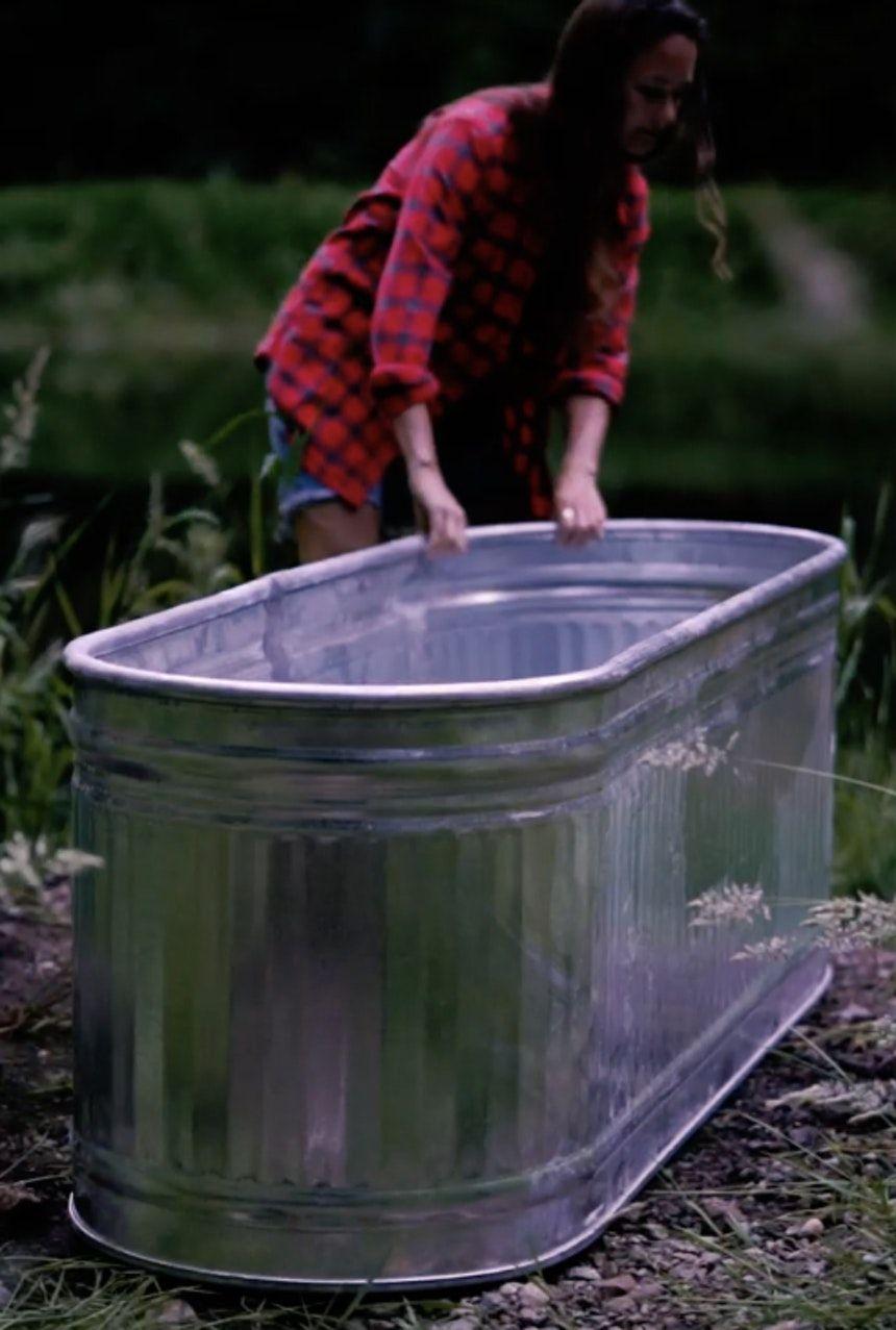 Moms Gift - Off-Grid Fire Heated Hot Tub | Hot tub, Diy