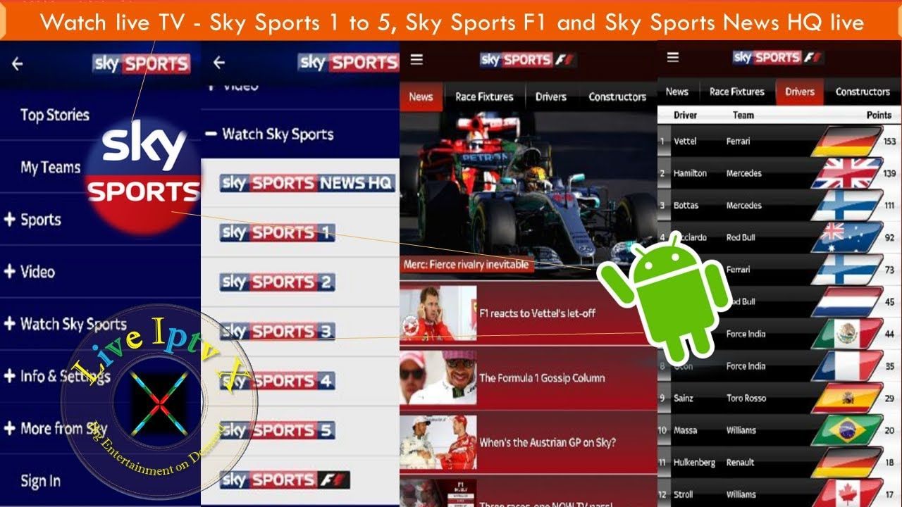 Android Sky Sports Live TV Apk For Watch Sky Sports