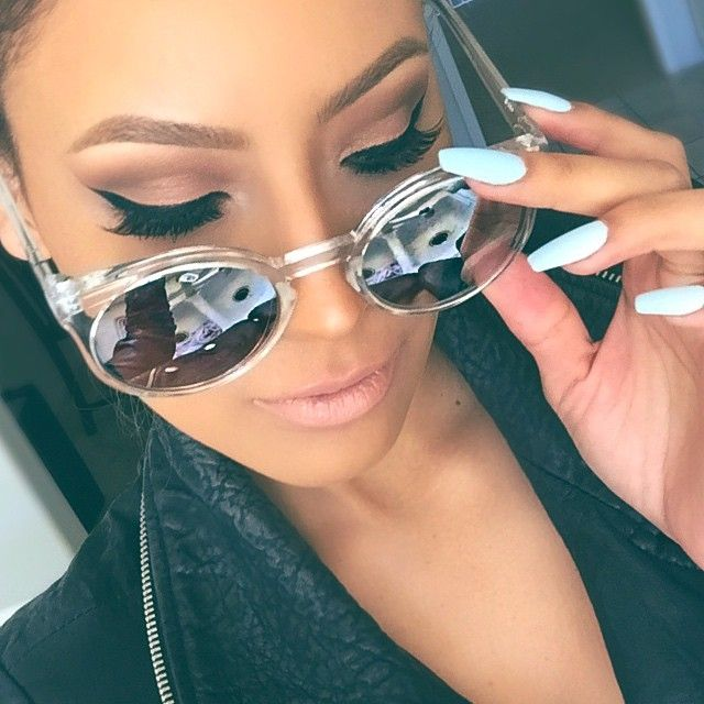 Round Oval Sunglasses Silver Mirrored Lens Transparent Frame Women Fashion