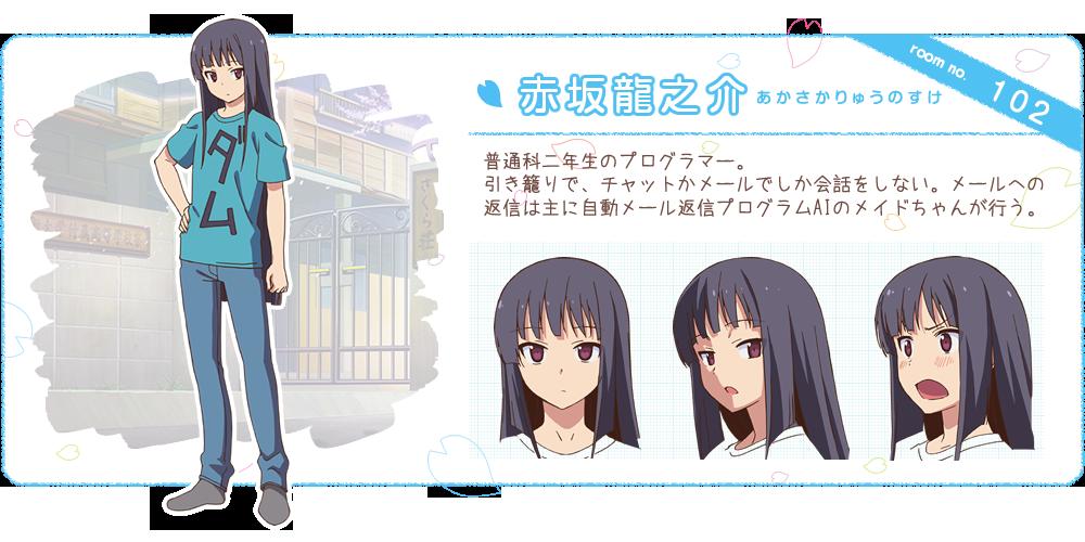 Ryuunosuke Akasaka The Pet Girl of Sakurasou (With