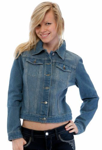 Curve Appeal Juniors Cotton Denim Jacket Curve Appeal
