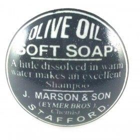 bouton de meuble vintage  olive oil noir