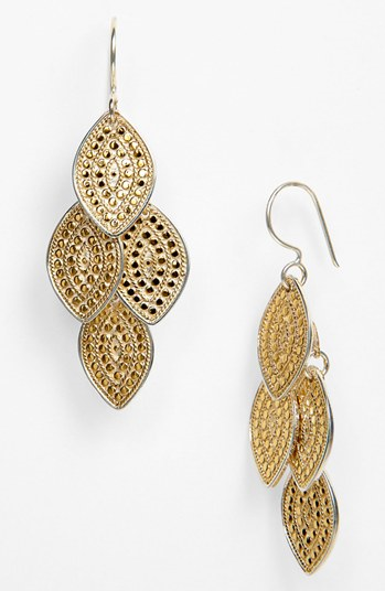 Anna Beck Jewelry Gili Chandelier Earrings Gold Http Seapai Product Aspx Pid 5217716