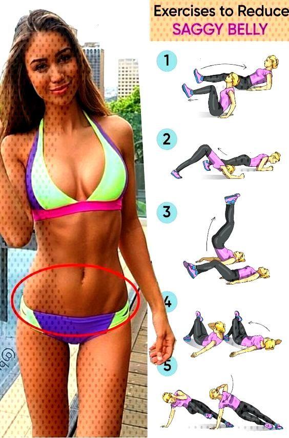 Exercises to reduce saggy belly    Exercices pour réduire le ventre affaissé de poids
