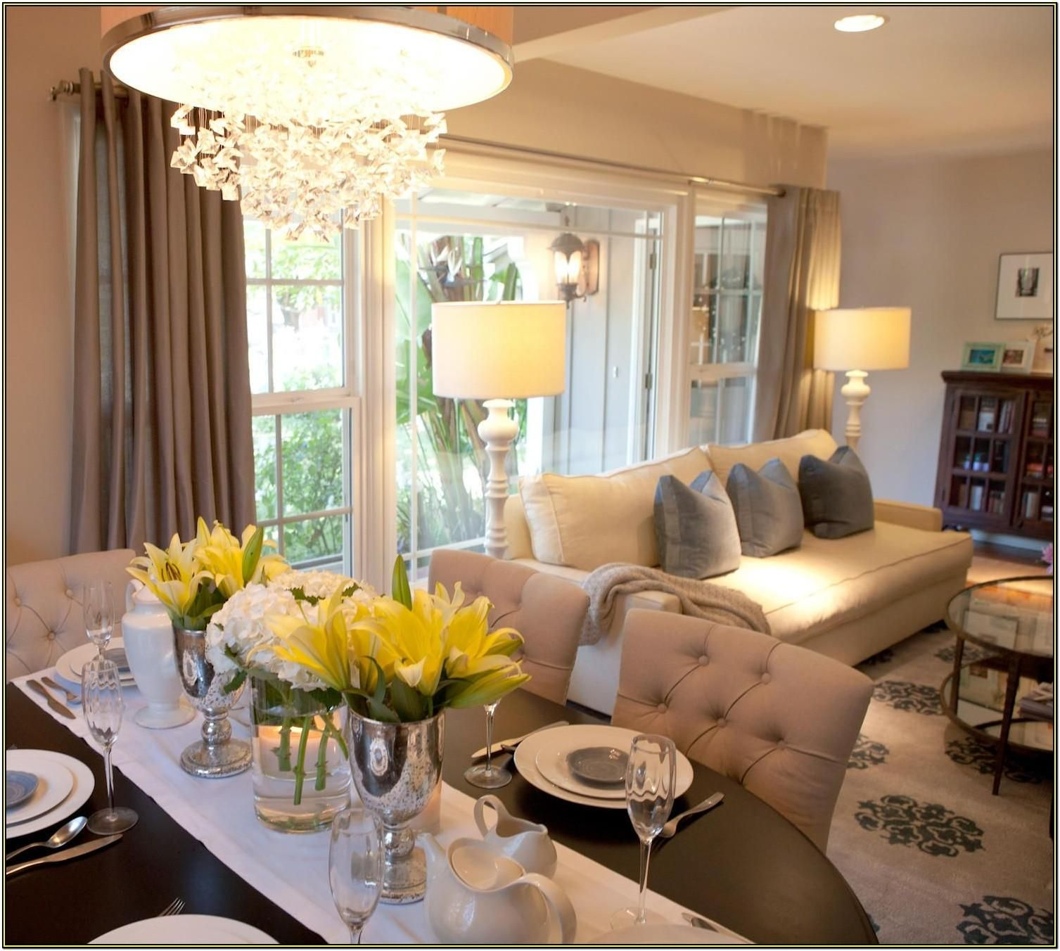 Decorating Ideas For Small Living Room Dining Room Combo Living Room Dining Room Combo Small Living Dining Living Dining Room Combo