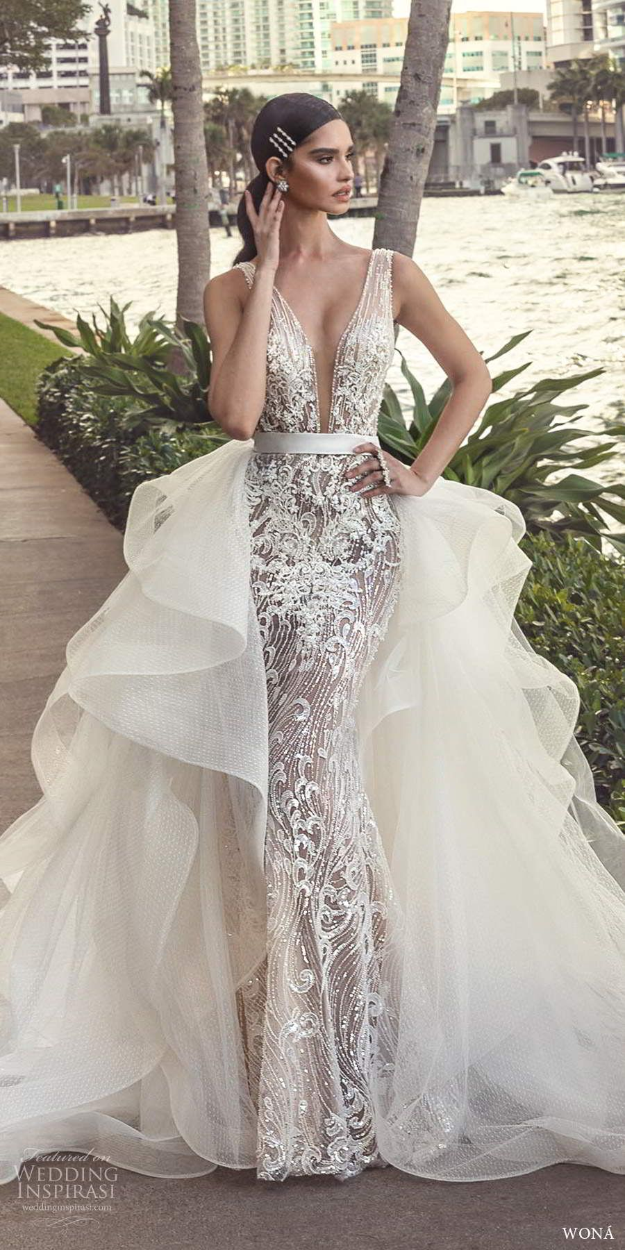 "WONÁ Fall 2020 Wedding Dresses — ""Miami"" Bridal Collection"
