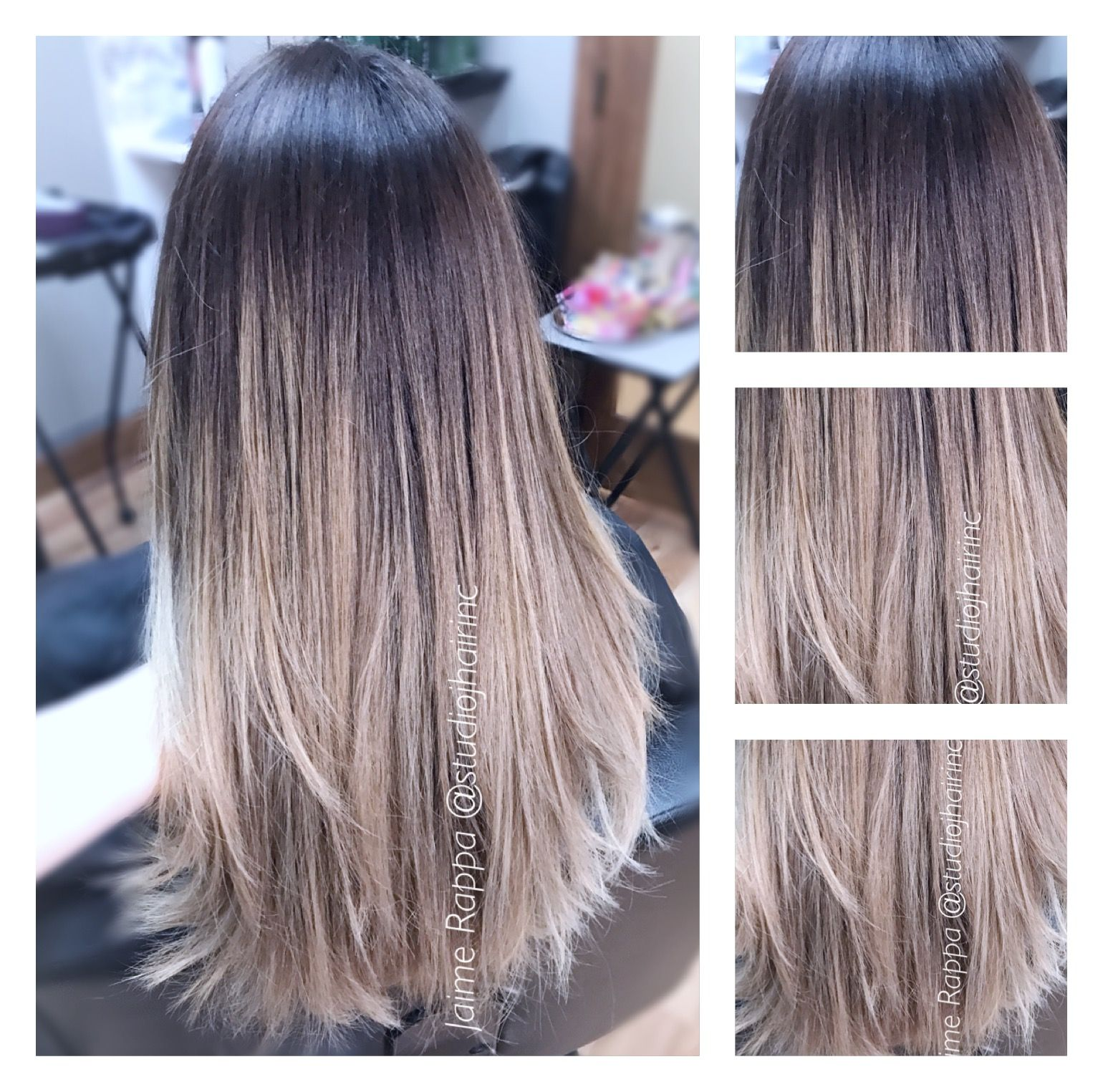 Ombre Didn T Hurt The Integrity Of Her Hair By Using Redken Ph Bonder Beautiful Brown To Blonde Blend Hair Color Experts Color Correction Hair Best Hair Salon