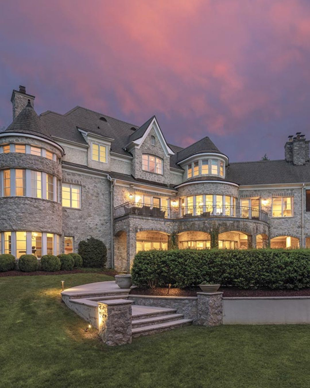 Magnificent Stone Estate At Ballantyne Country Club Listed By Christine Hotham Helen Adams Re Luxury Homes Luxury Realtor North Carolina Real Estate