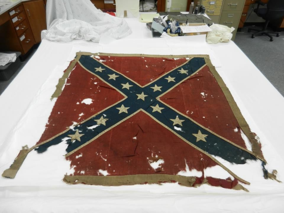 Battle flag of the 5th NC Cavalry (63rd Regiment)