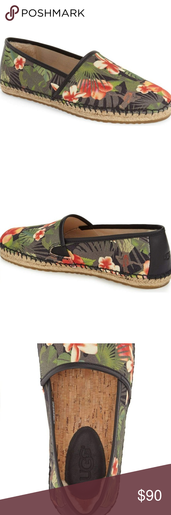 5bf099acdc8 Ugg Australia Men's Kas Hawaiian Print Slip On Ugg Australia - Men's ...
