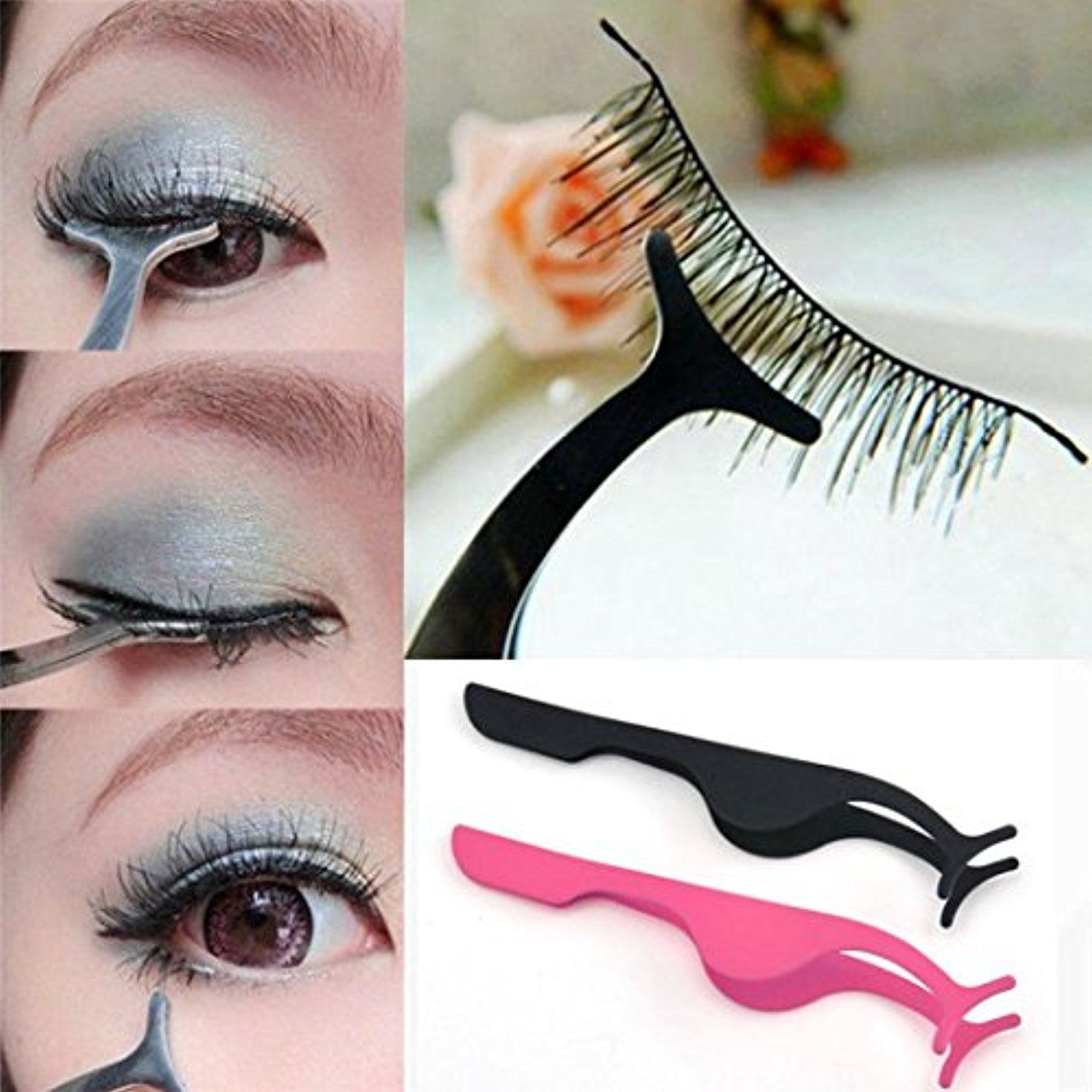 Dzt1968 1pc Women Hot Waterproof False Eyelashes Extension