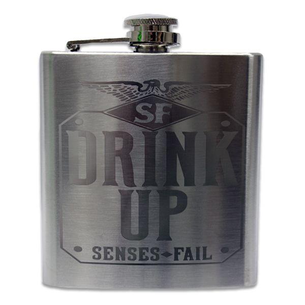 A Senses Fail flask, yes please!