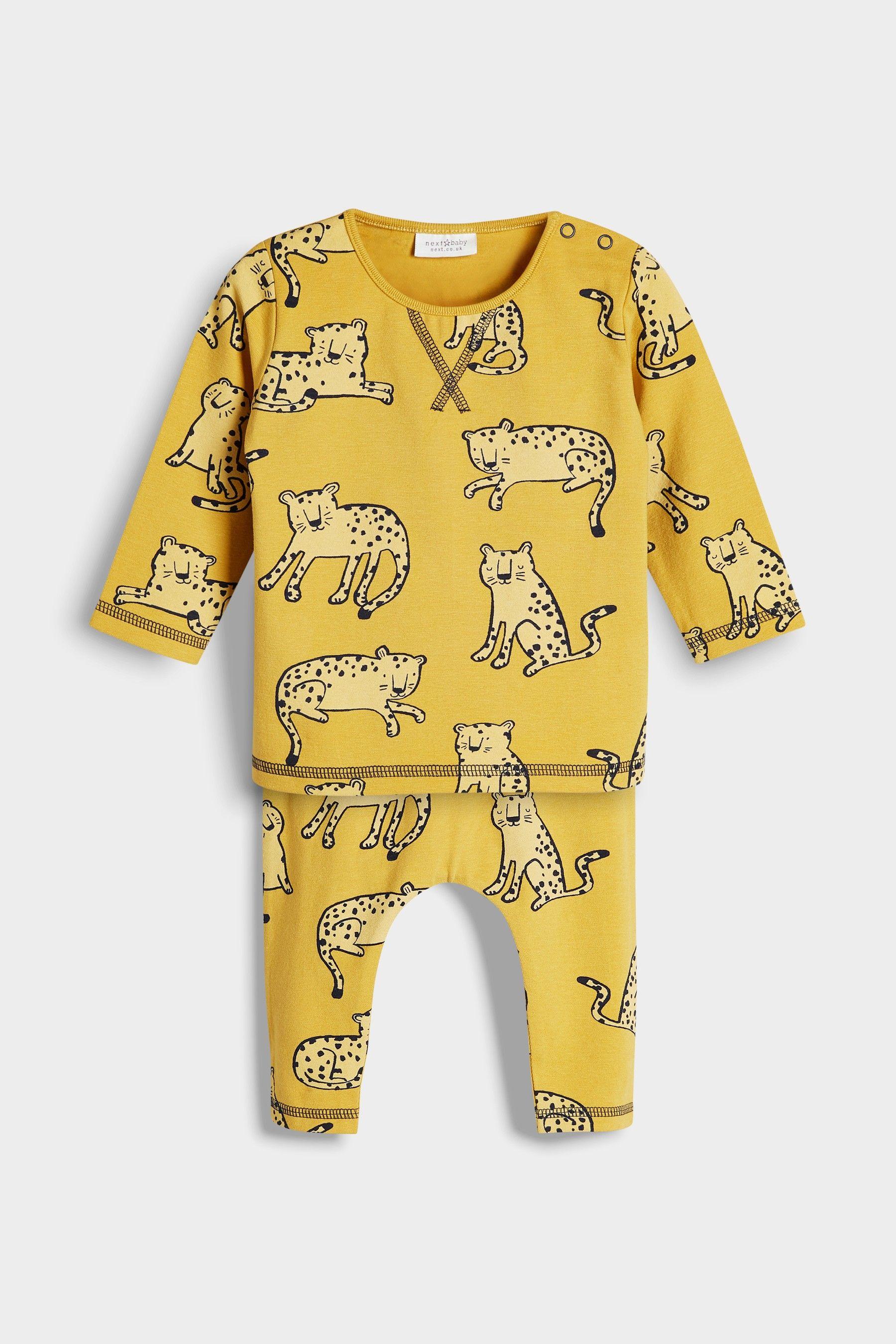 934391f8f Buy Yellow Cheetah Character T-Shirt And Leggings Set (0mths-2yrs ...