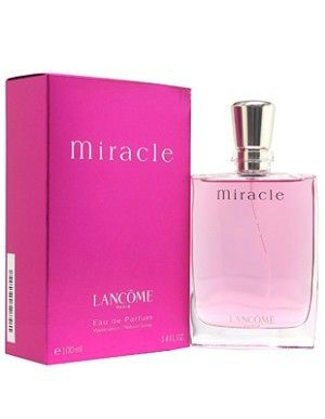 Lancome Miracle. My absolute favorite perfume that ever