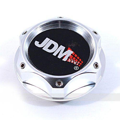 Oil Filler CAP In Silver Billet Aluminum For Honda Acura
