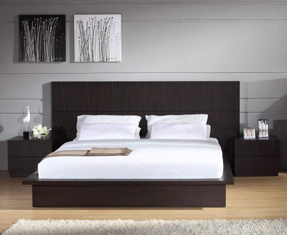 Modern Black Wooden Headboards Designs For Modern Bedroom Modern