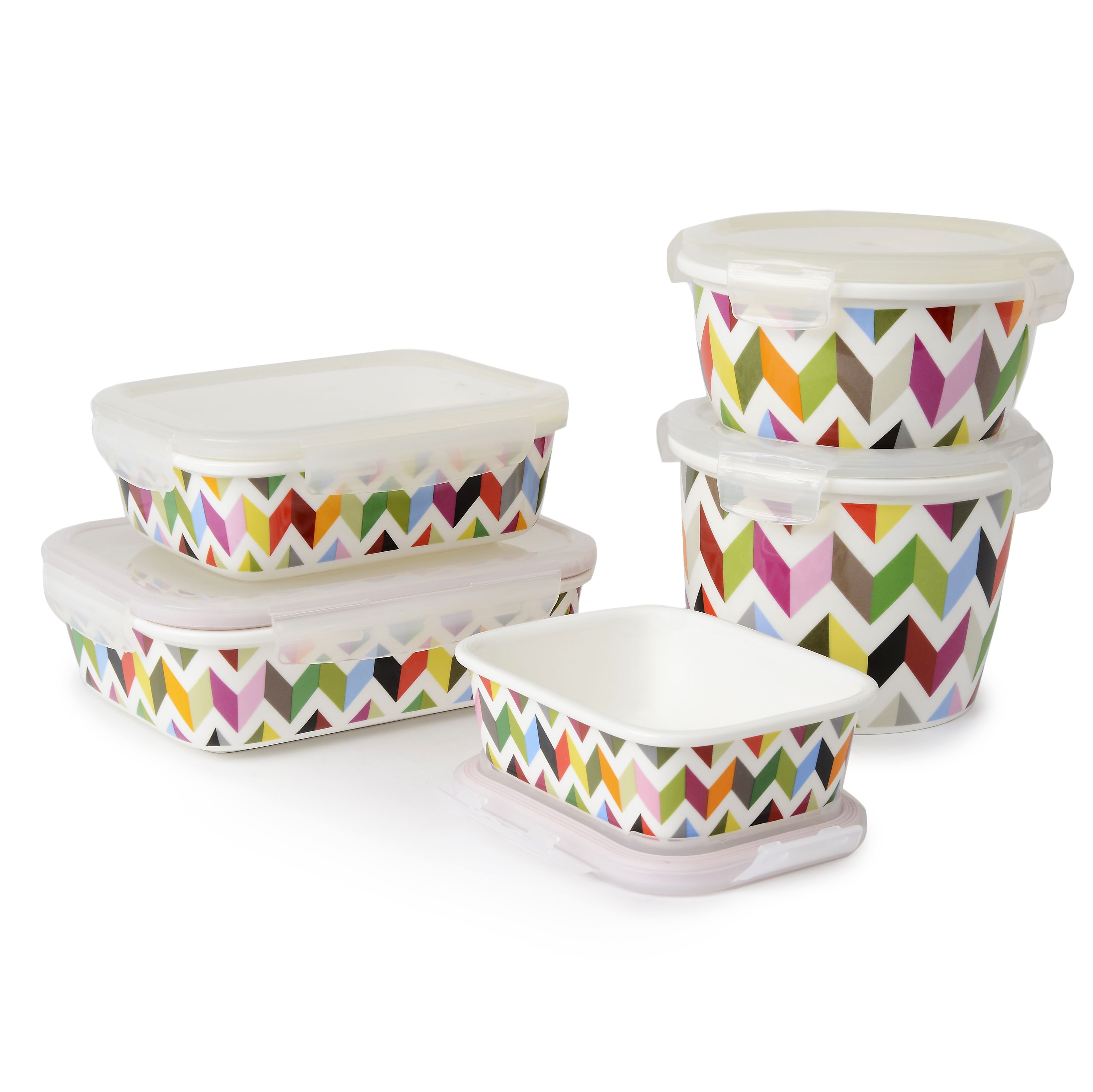 French Bull porcelain storage containers bake on the go serve