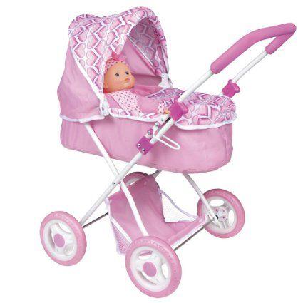 Color Baby Amore Set Cochecito De Paseo Con Bebé 43110 Amazon Es Juguetes Y Juegos Carritos De Muñecas Carrito De Paseo Coches Para Bebes