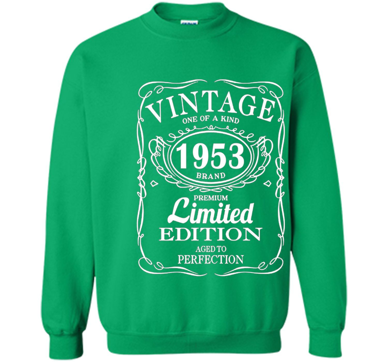 Vintage Born In 1953 64 Years Old Birthday Tshirt