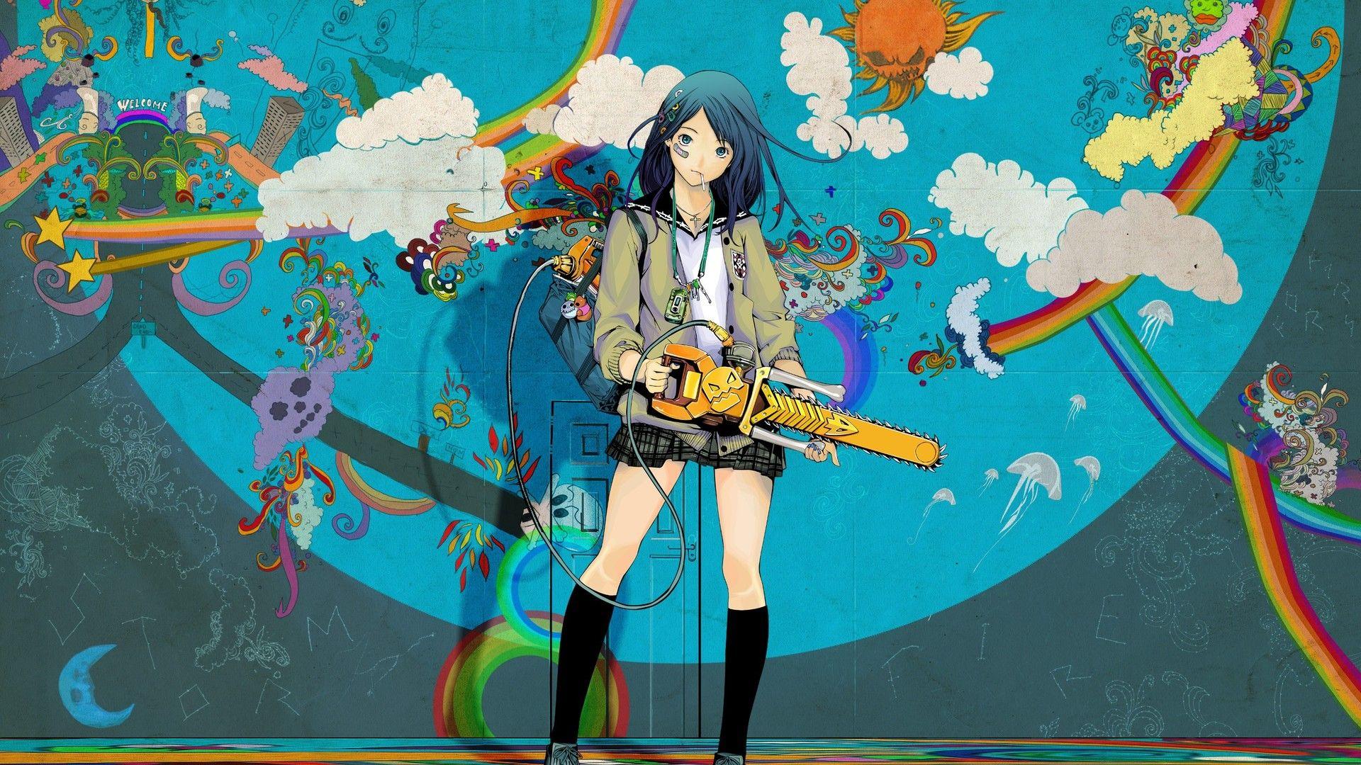 Hd wallpaper kawaii - Dark Anime Girl Kawaii Colorful Hd Desktop Backgrounds Bloody Berry Pinterest Dark Anime Girl Dark Anime And Hd Desktop