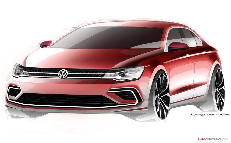 Volkswagen NMC Concept Design